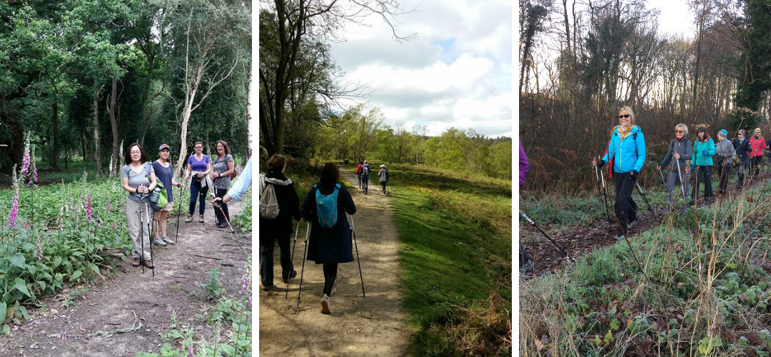 Nordic Walking in Surrey